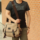 The Overland - Large-Capacity Casual Men's Messenger Bag from Manly Packs