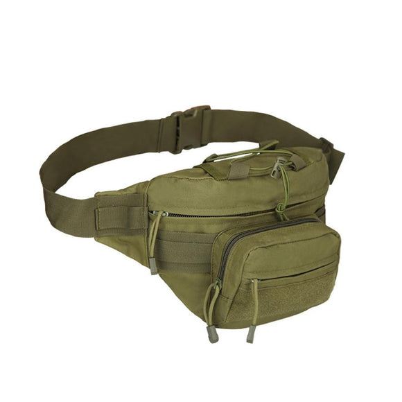 The Rambo - Men's Military Style Combat Waist Pack from Manly Packs
