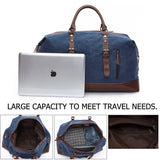 The Getaway Bag - Men's Canvas Weekender Duffel Bag (Multiple Colors)