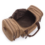 The Baja Weekender Duffel - Large Canvas Travel Bag For Men (Multiple Colors)
