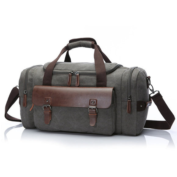 The Acadia - Rugged Canvas Duffel Bag for Men from Manly Packs