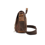 The Navajo Messenger - Rugged Canvas Crossbody Messenger Bag for Men (Multiple Colors)