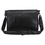 The Architect - Leather Portfolio Briefcase Messenger Bag for Men (Multiple Colors)