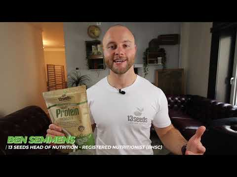 Load and play video in Gallery viewer, Hemp Protein Powder 450g