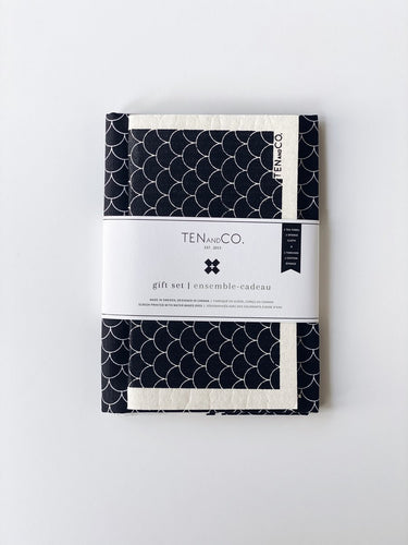 Gift Set: Tea Towel & Sponge Cloth