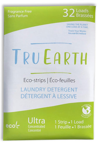 Laundry Detergent - Fragrance Free Eco Strips - Tru Earth