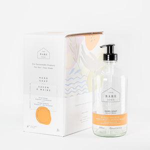 Hand Soap - The Bare Home - Blood Orange, Bergamot + Sandalwood - REFILL STATION