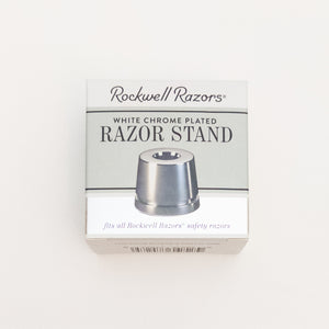 Stainless Steel Safety Razor with Optional Stand