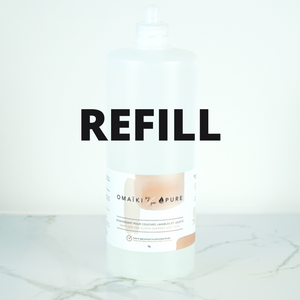 Sanitizer for Surfaces & Laundry - Omaiki by Pure - REFILL JAR
