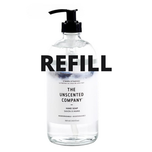 Hand Soap - The Unscented Company - REFILL JAR