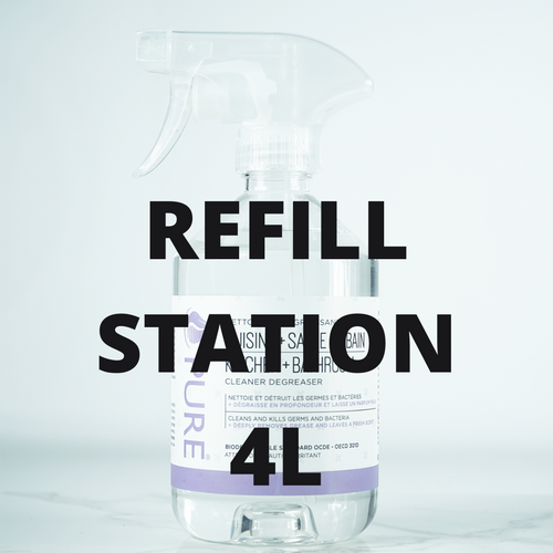 Kitchen & Bathroom Cleaner - PURE - REFILL STATION