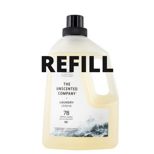 Laundry Detergent - The Unscented Company - REFILL JAR