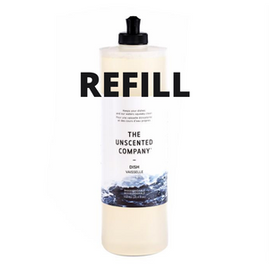 Dish Soap - The Unscented Company - REFILL JAR