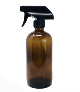 Glass Spray Bottle (Amber, Blue, Clear)