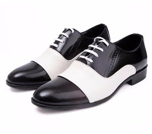 British Style Men Trend Pointed Toe Dress Shoes