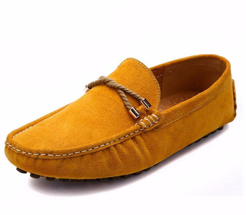 Casual moccasin shoes