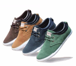 Daily casual suede shoes