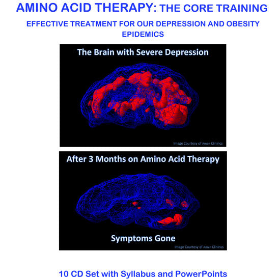 Amino Acid Therapy: 2-Day Core Training with Julia Ross