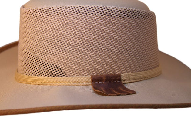 Lightweight Cool Mesh Canvas Cooler Hat Made in USA. A Ladies & Men's Favorite