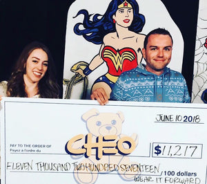 Over $11,000 for CHEO!
