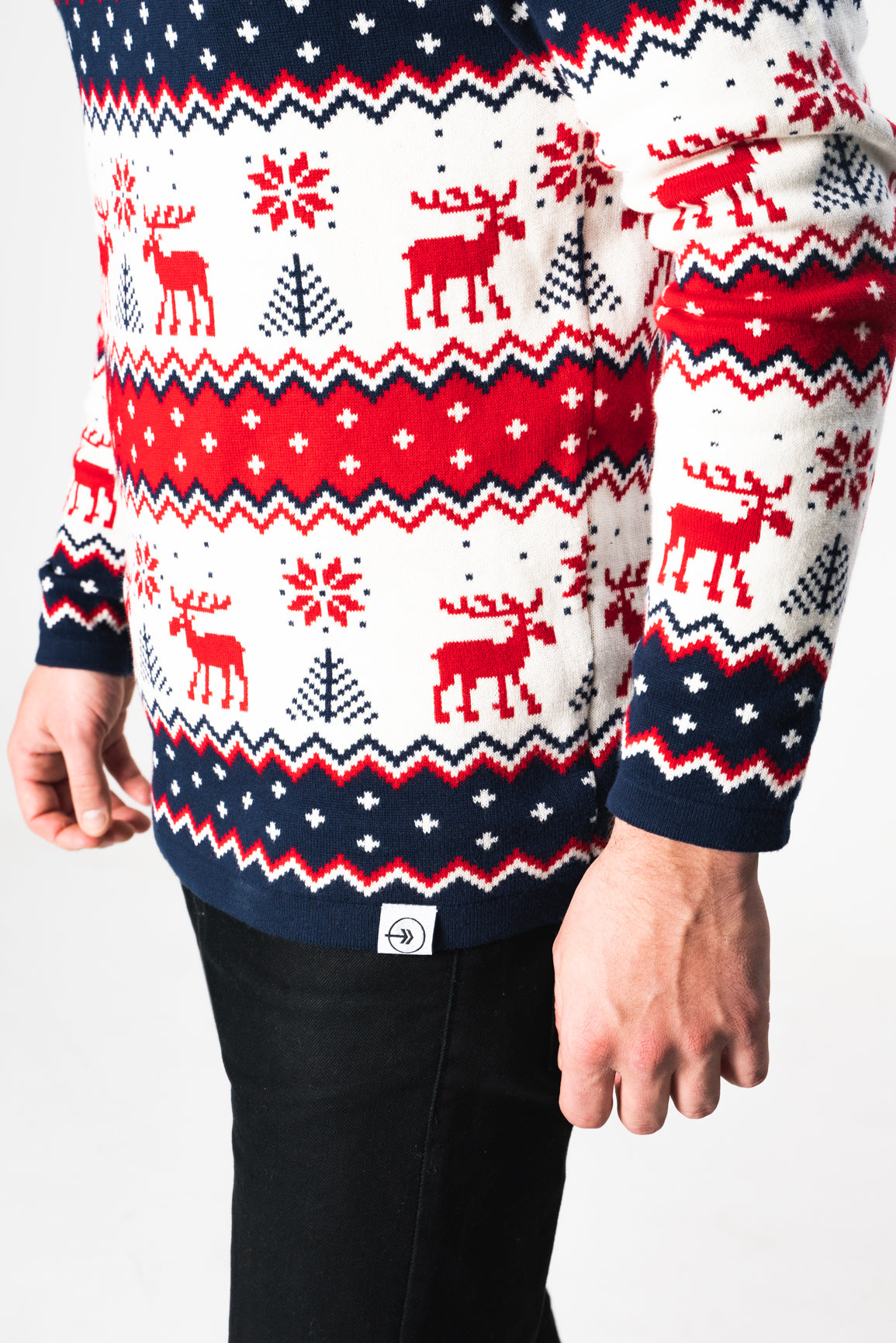 Silver Bells Sweater