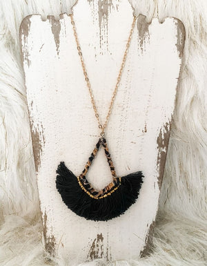 The Asher Fringe Necklace
