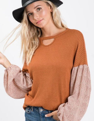 Anticipating Autumn Top