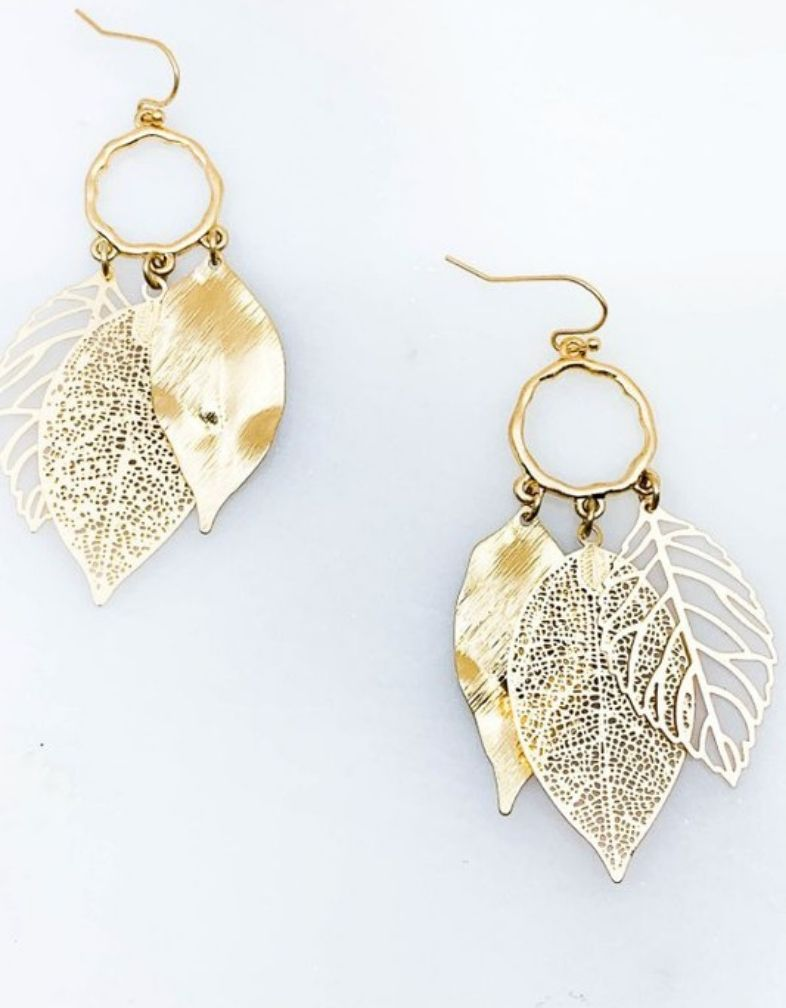 The Trista Leaf Earring