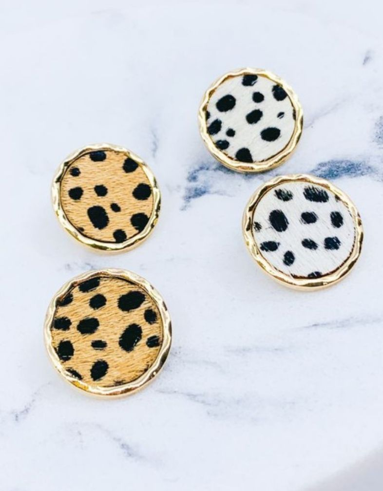 The Dakota Dalmatian Earring