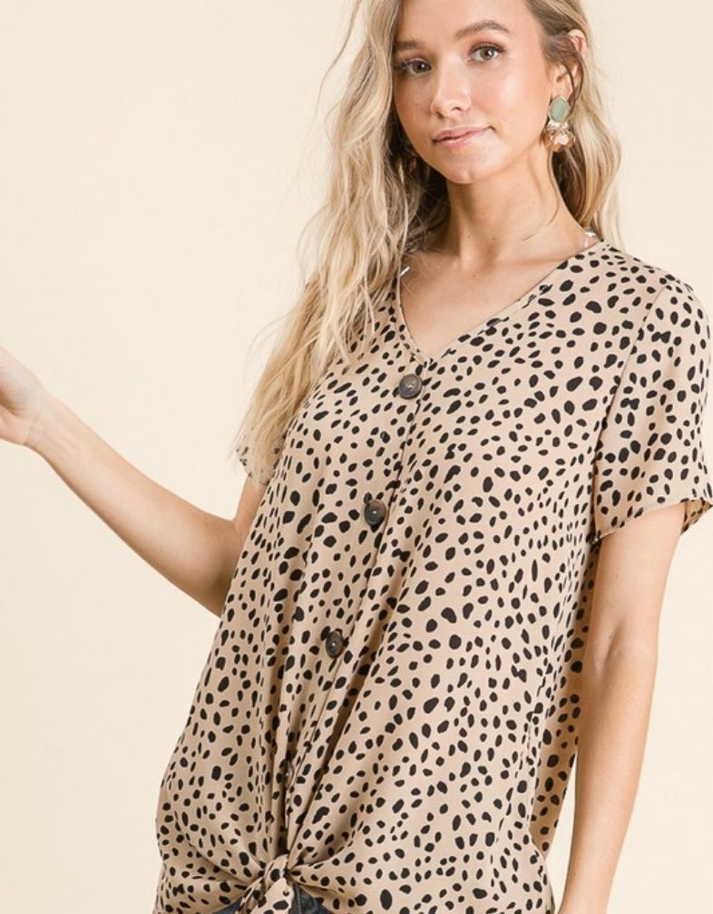 Wild One Leopard Top