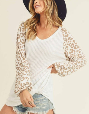 The Leilani Leopard Top