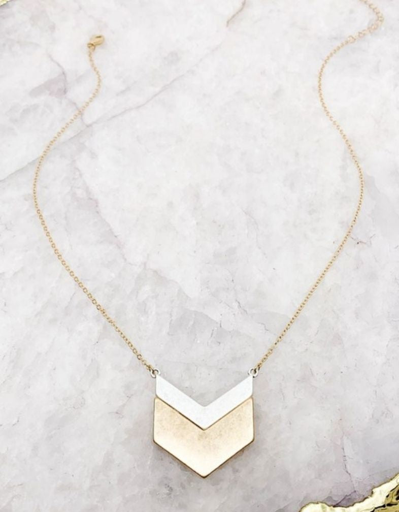 The Mandy Mixed Metal Necklace
