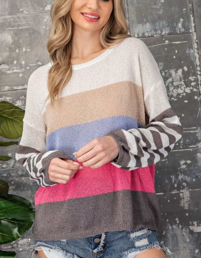 Spring Dreamin' Sweater