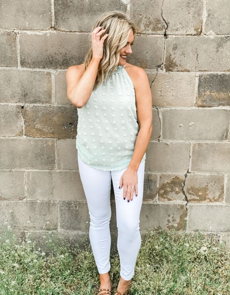 The Jolie Dot Tank