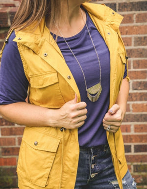 The Abby Anorak Vest