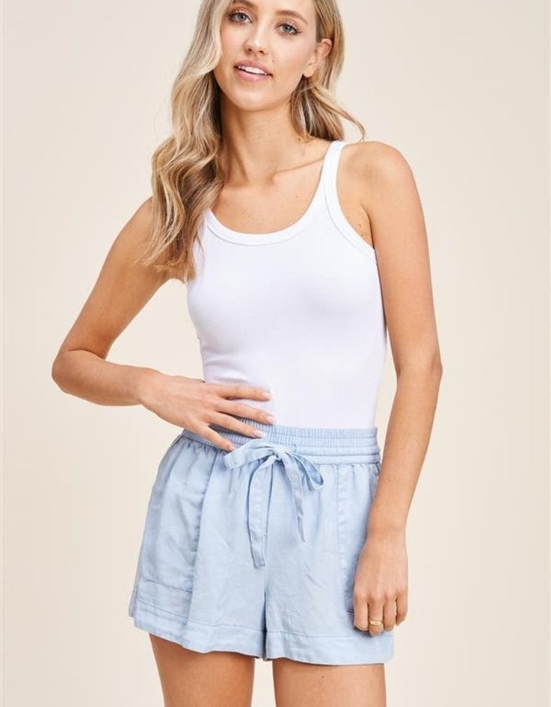 The Catalina Chambray Short