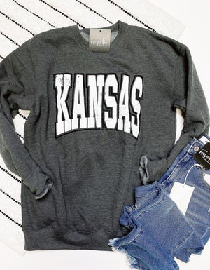 Kansas Puff Sweatshirt