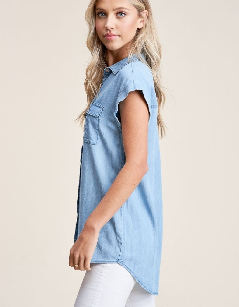The Danica Denim Top