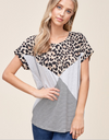 The Layla Leopard Top