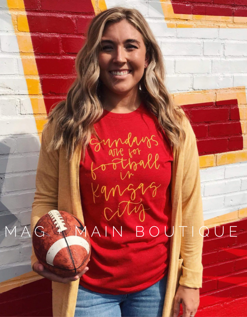 **PREORDER**Sundays Are For Football Tee