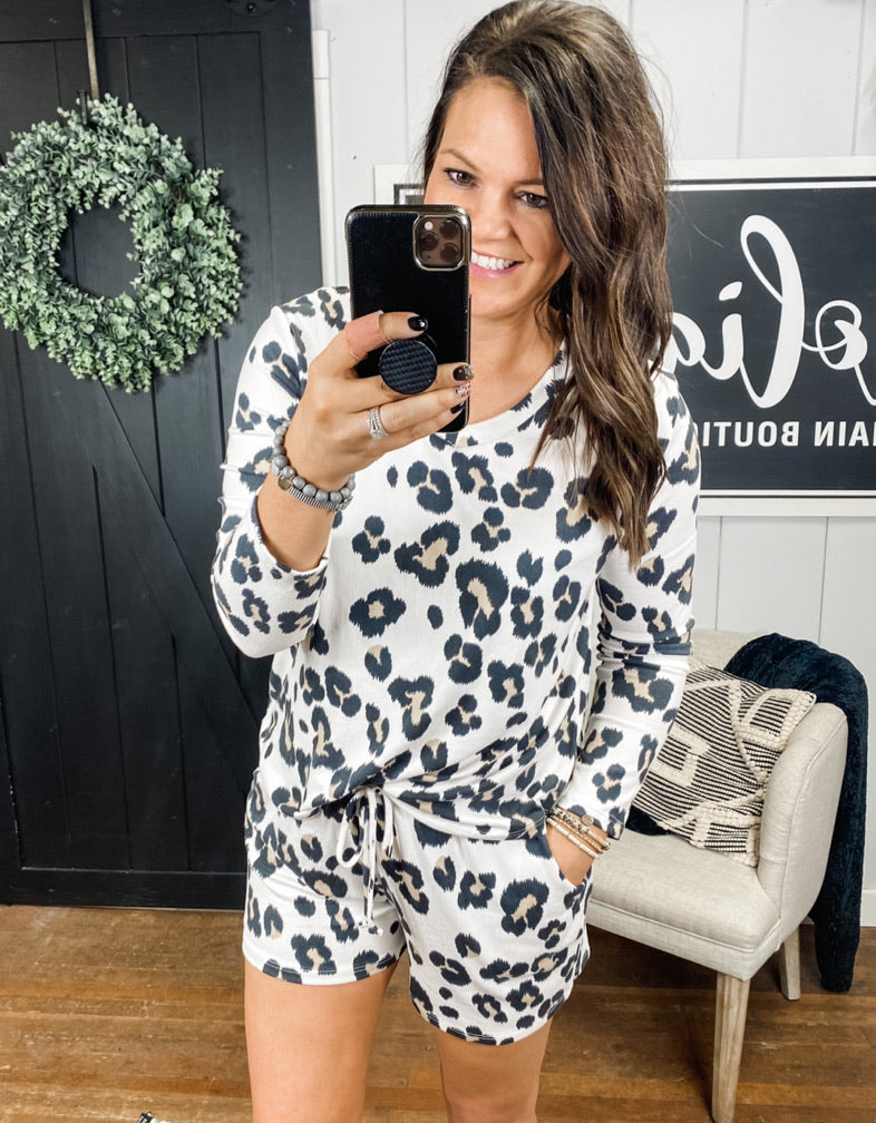 The Lennox Leopard Jammies