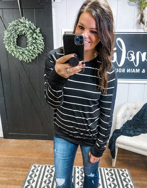 The Skylar Stripe Top