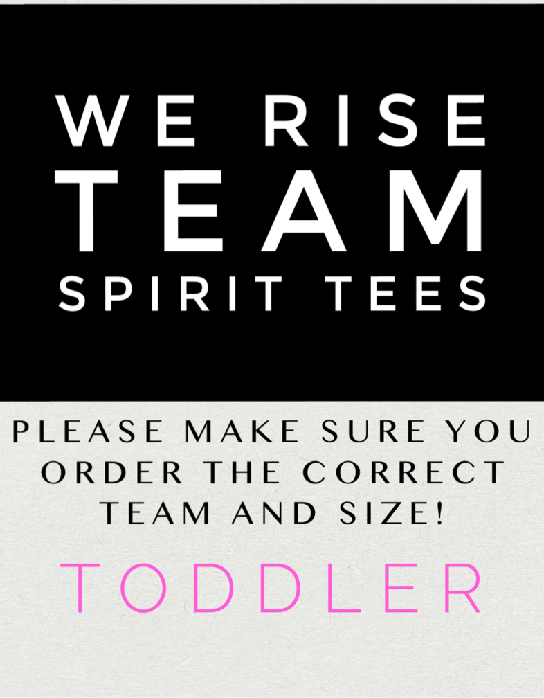 We Rise Tee-Toddler