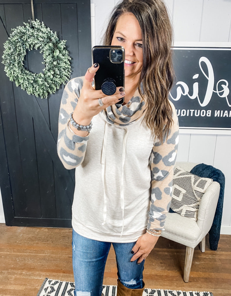The Daphne Leopard Pullover