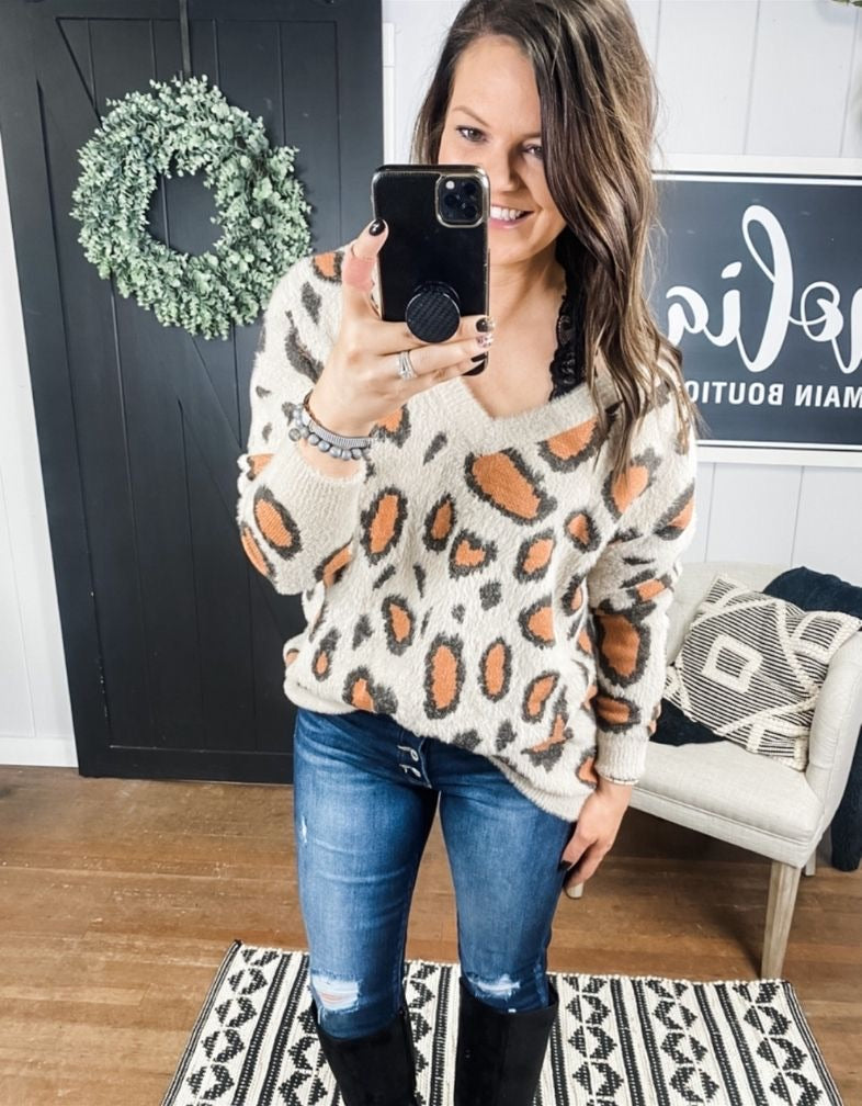 Turning Wild Sweater