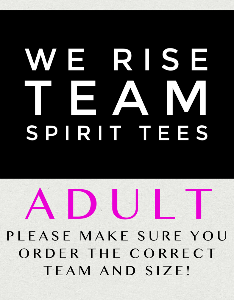 We Rise Tee-Adult