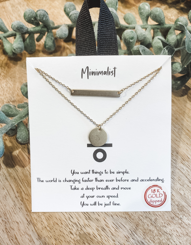 The Minimalist Necklace