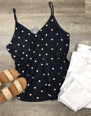 Perfect in Polka Dots Tank