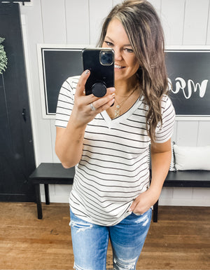 The Sloane Stripe Tee