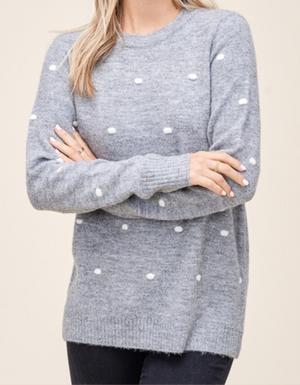 The Penelope Dot Sweater
